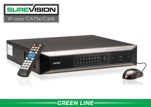 32 Channel 4K Network Video Recorder with 8 Hard Drive Slots