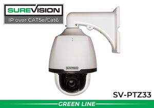 2MP 33x StarlightNetwork PTZ Dome Camera