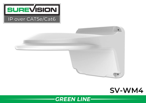 SUREVISION 4-inch Fixed Dome Indoor Wall Mount