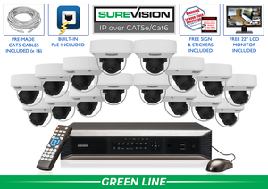 SureVision Complete 16 IP Camera System / 16IPDV5
