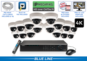 PRO Series Complete 16 (4K) IP Camera System / 16POEAD8