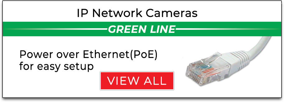 IP Network Cameras Green Line