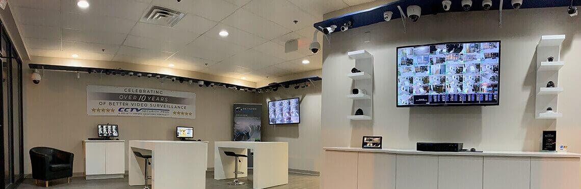 CCTV Security Pros Showroom