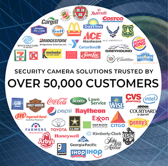 Security Camera Solutions Trusted by over 60,000 customers