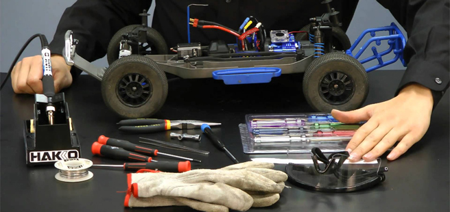 RC Tools and Building
