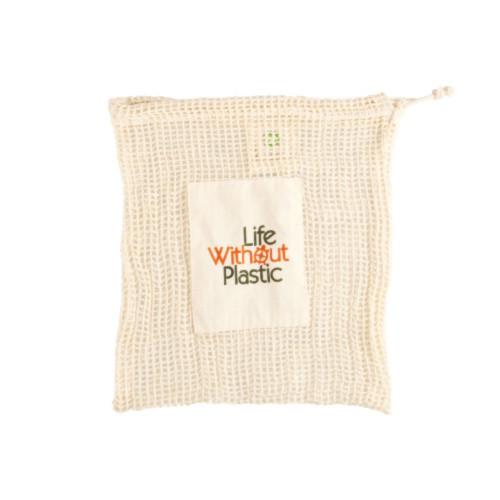 有机棉网生产袋-中等