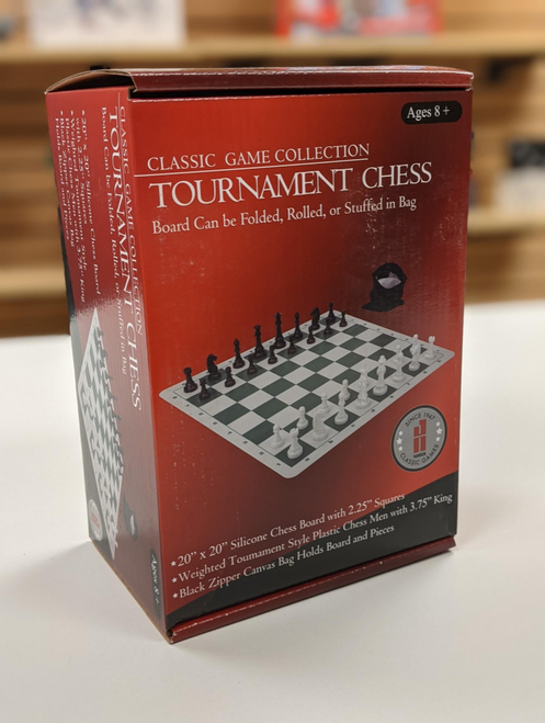 "Chessset Silicone Mat 3.75"" King JH Box"