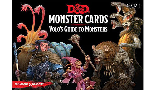 地下城& Dragons Volo'S Guide Monster Cards