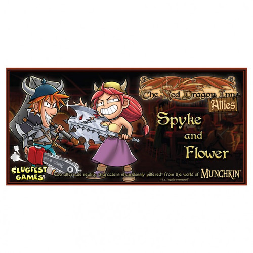 Red Dragon Inn:盟友:Spyke& Flower