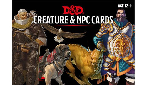 地下城& Dragons Creature & NPC Cards