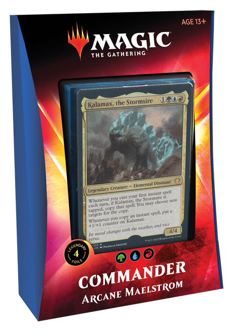 Arcane Maelstrom Ikoria Commander-Magic聚会(仅限店内取货)(售罄)