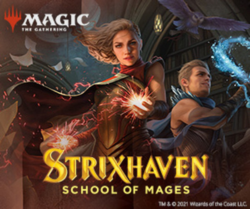 Commander Decks Aft-5,Strixhaven-Magic聚会(预购)