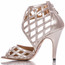 Caressa - Open Toe Cage Heels - Custom Made To Order - B1656