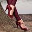 Morona - Curvy Mary Jane Heel - Custom Made To Order - B1444