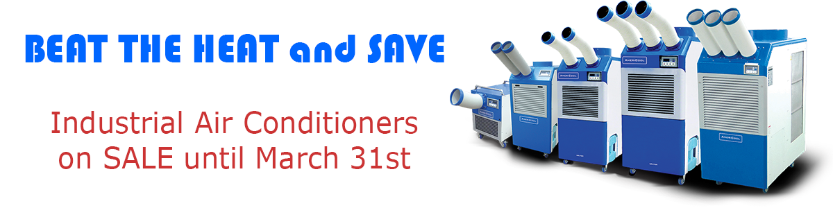 Portable Industrial Air Conditioners on Sale