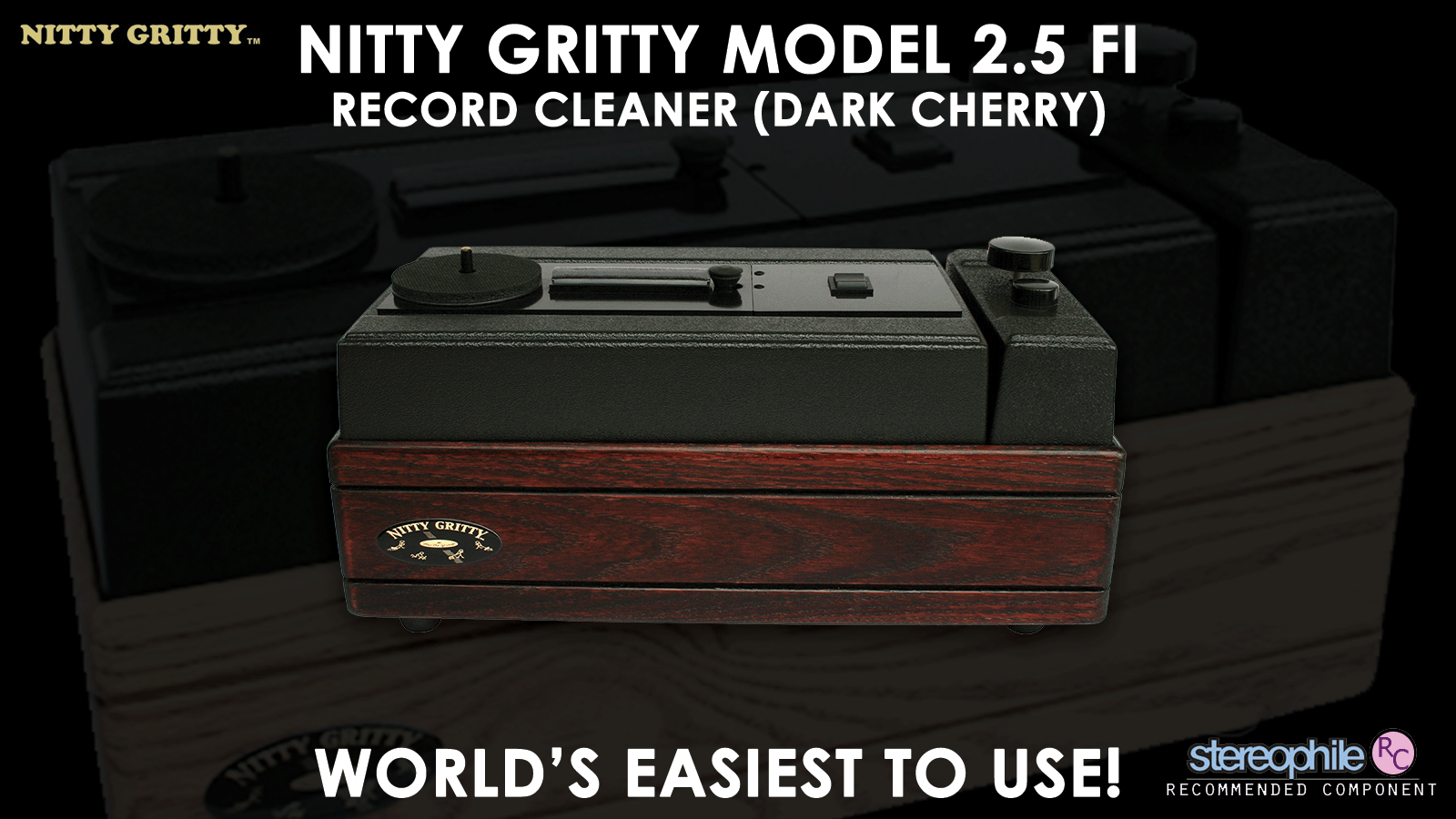 Nitty Gritty Model 2.5 Fi Record Cleaner