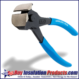 """Channellock 7"""" End Nippers are used by insulators to cut pins after installing lock washers.  These end nippers create a flush cut unlike other metal snips which will leave a stub that can puncture insulation claddings and tapes."""