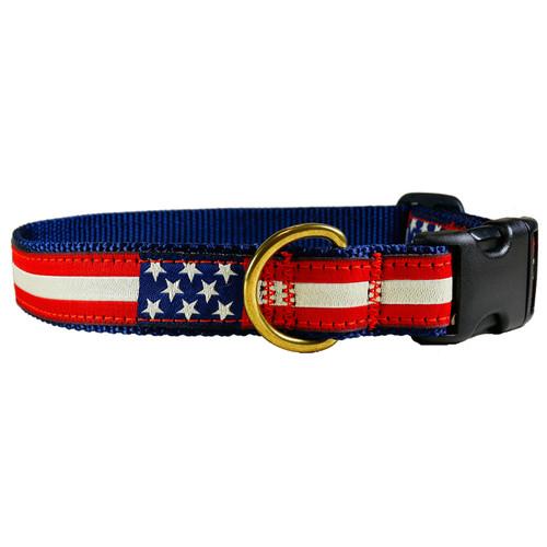 American Flag Dog Collar
