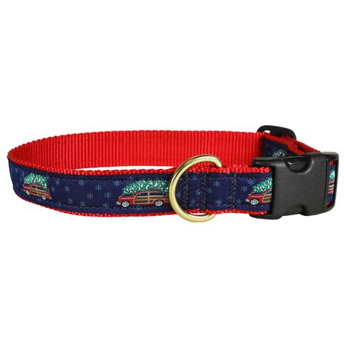 Woodie & Tree Dog Collar - 1 Inch