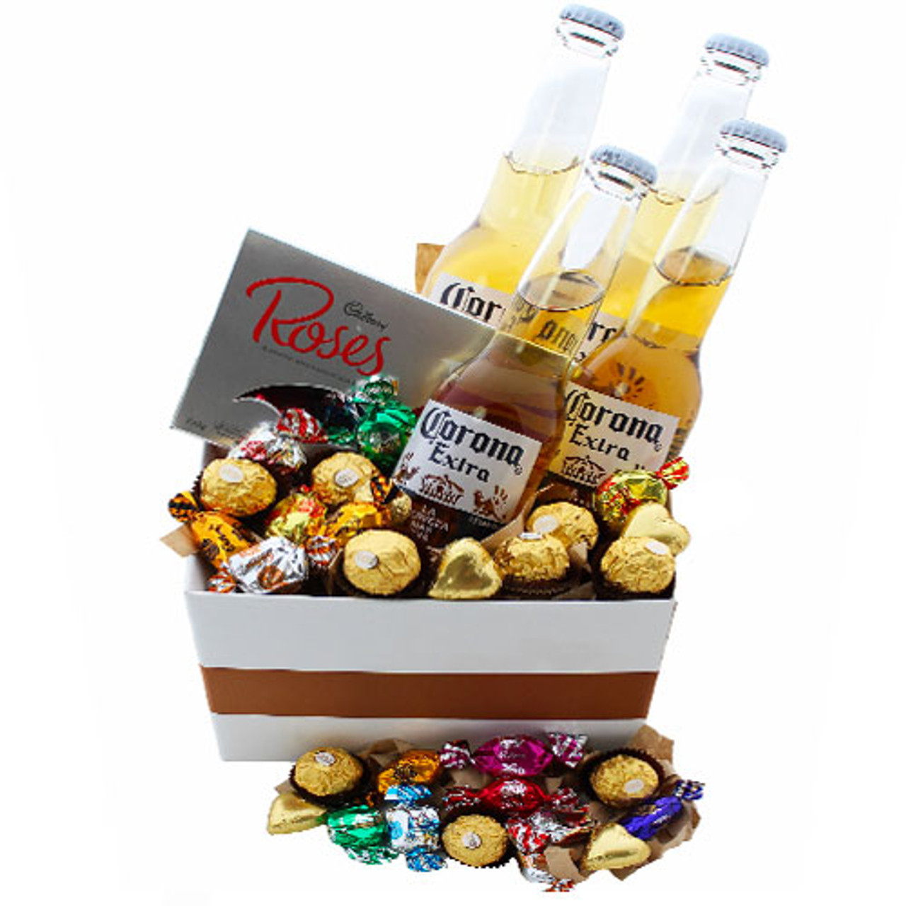 Beer And Chocolate Hampers Gold Coast Delivery Botanique Florist Australia