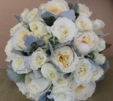 David Austin Bridal Bouquet - Botanique Flowers Gold Coast