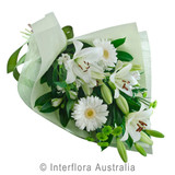 Sympathy flowers Gold Coast White