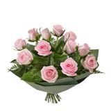 Dozen rose flower bunch Gold Coast - PINK