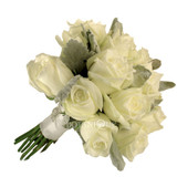 Wedding Rose Posy 12 roses (Diamante buckle optional extra)