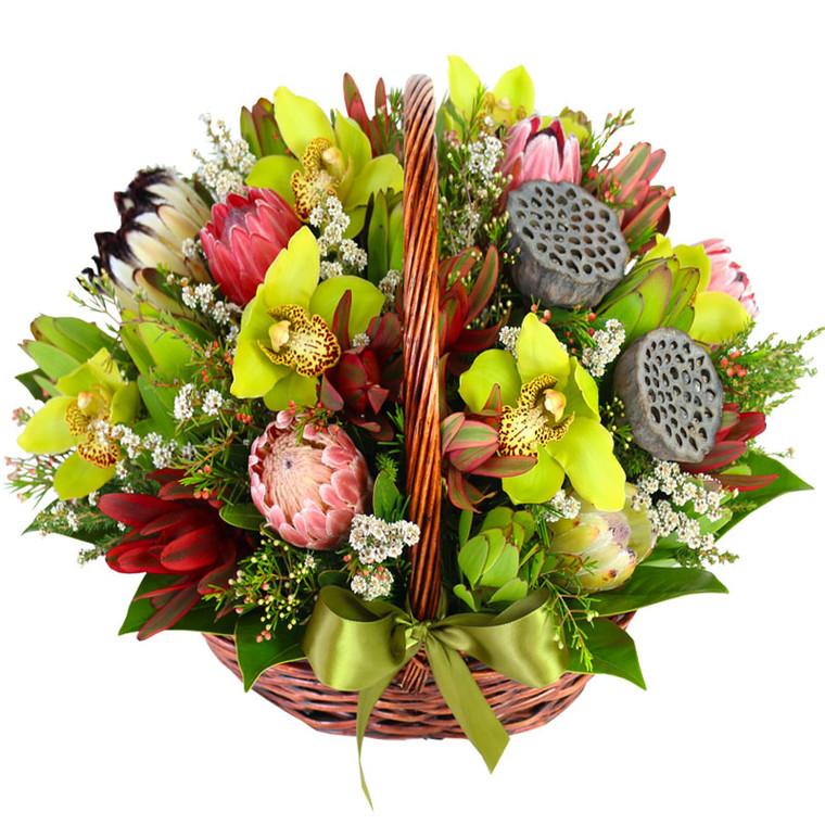 Australian Flower Basket