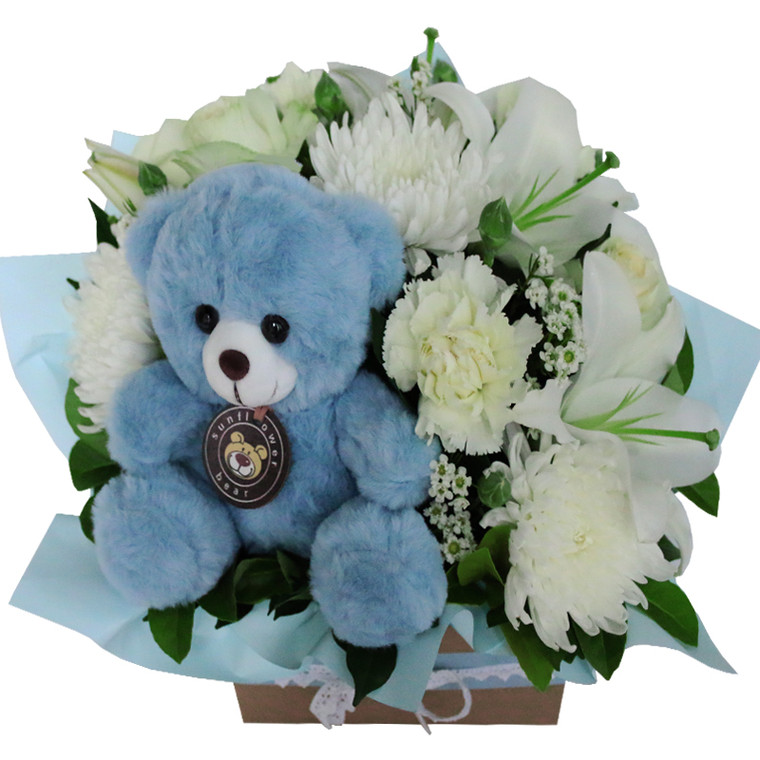 Baby boy flowers Gold Coast Hospital Delivery.
