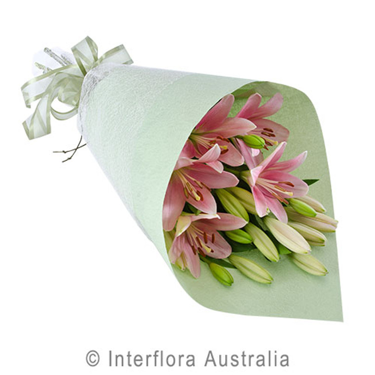 Pink Lily flower delivery Gold Coast Australia