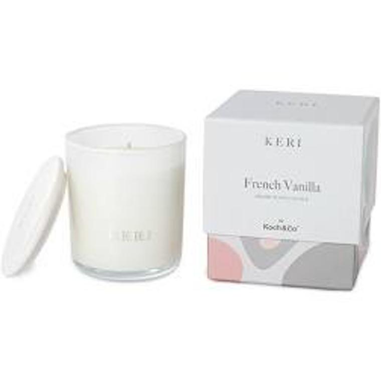 French Vanilla Luxury Soy Candle Indulgence 400g