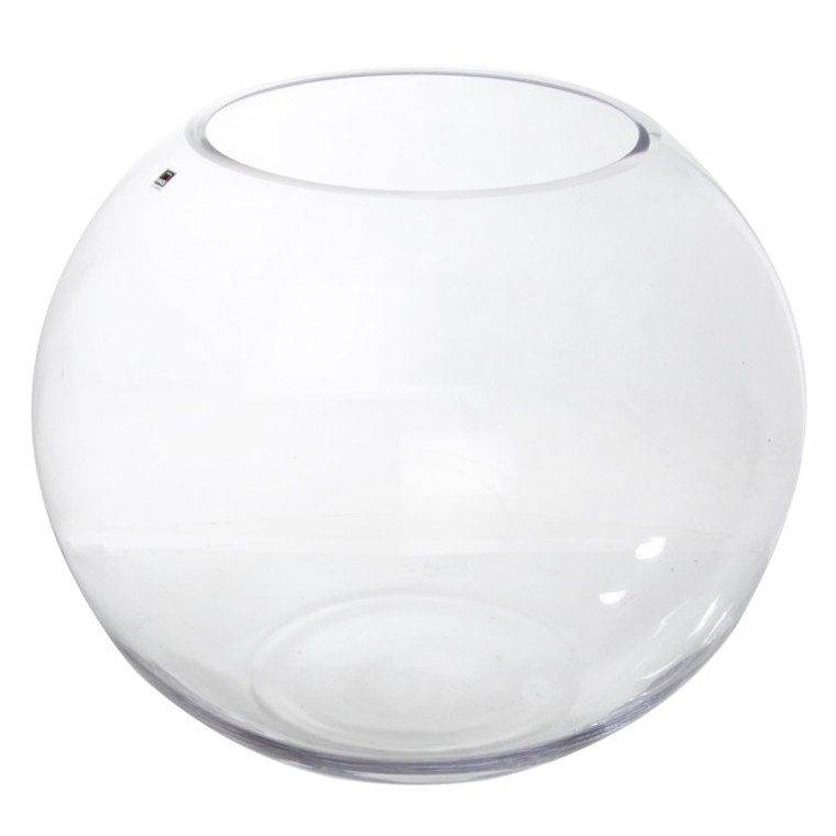 Large Glass Fish Bowl 22cm Diameter