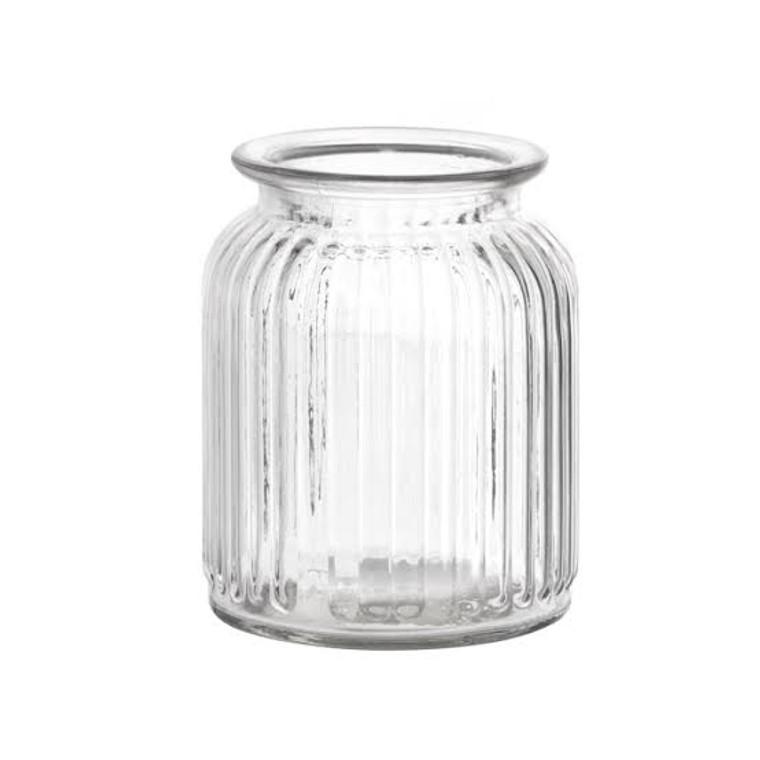 Hurricane Glass Jar SML