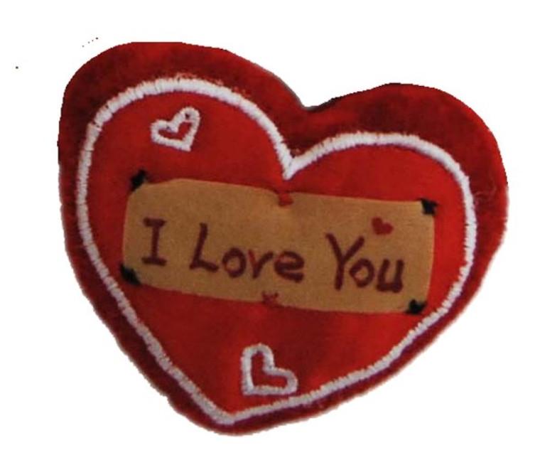 Heart I love you 6cm