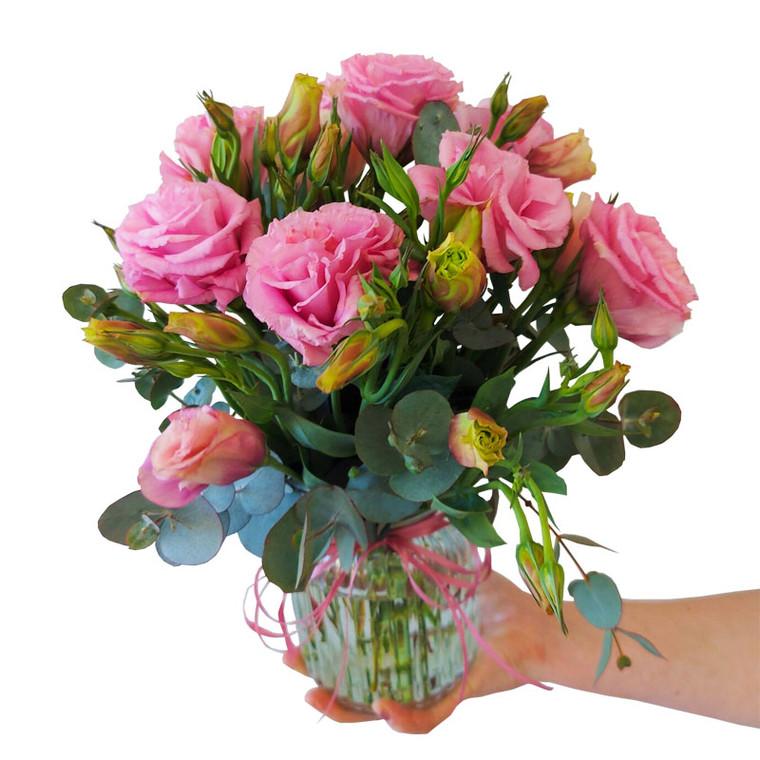 MARKET SPECIAL - Lisianthus in vase