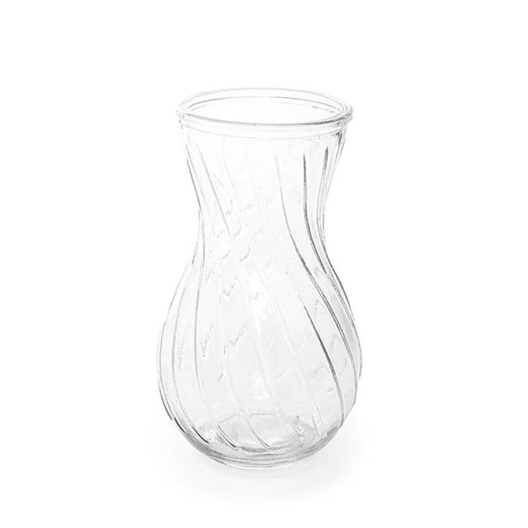 Glass Twist Vase Lge