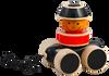 Maya Organic:  Go Go Stacker Pull Toy