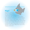 The story of Nigel the Shark