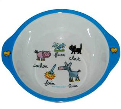 Baby Cie:  Farm Animals Bowl
