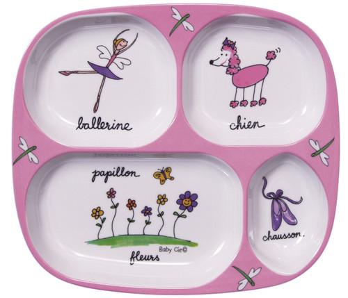 Baby Cie:  Ballerina TV Tray Plate