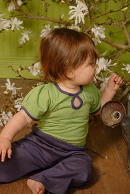 Kate Quinn Organics: Clover Bodysuit & Blackberry Pants