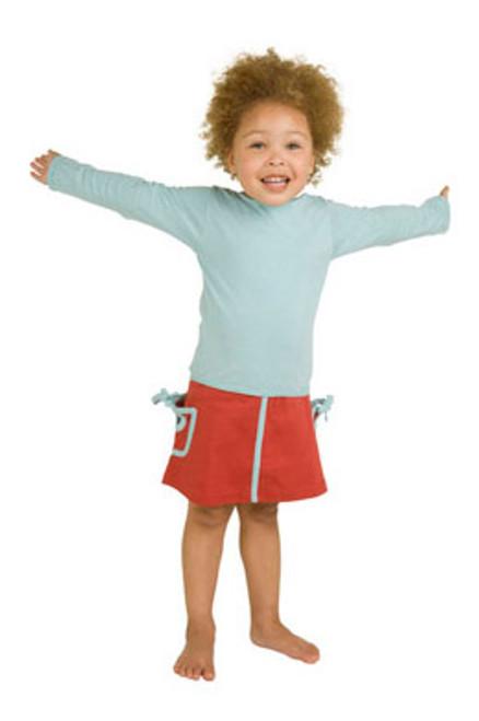 Kate Quinn Organics:  Pocket Skirt and Tunic Tee Set