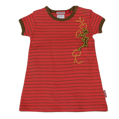 Scout: Adventure Dress in Sunset with Kelp Stripes