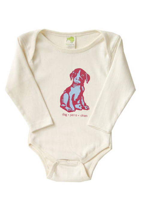 Kiwi:  Wordly Animal Dog Tee/Bodysuit