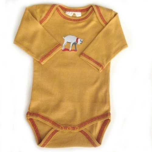 "Speesees:  Organic ""Kid"" Long-Sleeve Bodysuit"