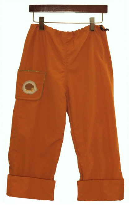 Hedgehog Hiker Pants in Tiger Orange