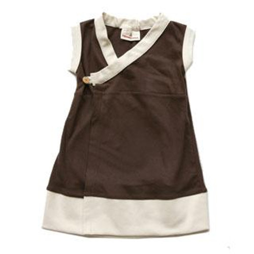 Speesees:  Sleeveless Kimono Dress in Cocoa