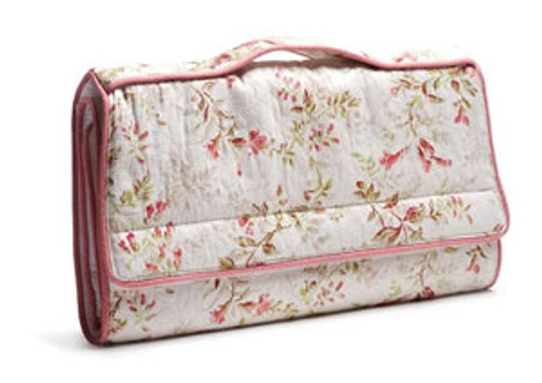 Pineapple Cove: Toddler Change Pad in Pink Matelasse