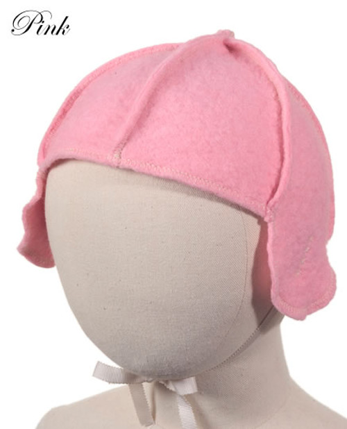 Little Deer: Pilot Cap in Pink